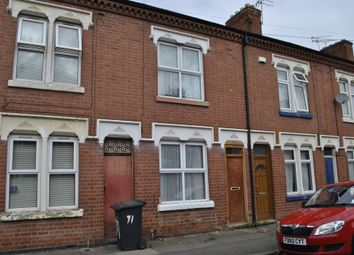 Thumbnail 4 bed terraced house to rent in Cranmer Street, Leicester