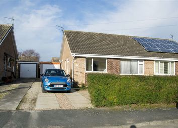 Thumbnail 2 bed semi-detached bungalow to rent in Keble Close, Bishopthorpe, York