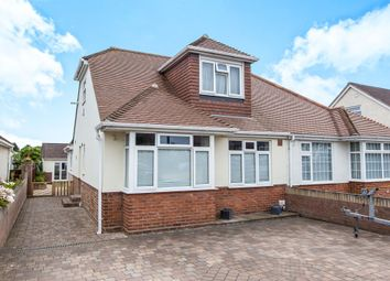 Thumbnail 4 bed semi-detached house for sale in The Crossway, Portchester, Fareham