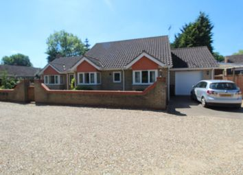 Thumbnail 3 bed detached bungalow to rent in Station Road, Lakenheath, Brandon