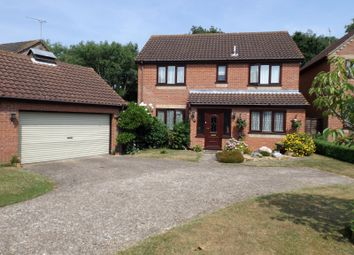 Thumbnail 4 bed detached house for sale in Bluebell Way, Worlingham