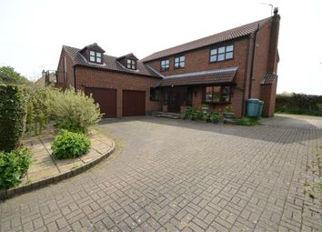 Thumbnail 5 bed detached house for sale in Main Street, Rowston, Lincoln