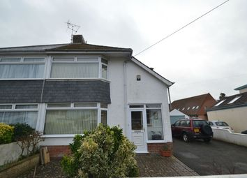 Thumbnail 2 bed semi-detached house for sale in Highbury Road, Barnstaple