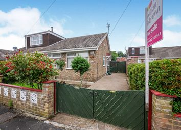 Thumbnail 2 bedroom semi-detached bungalow for sale in Elm Tree Close, Thorngumbald, Hull