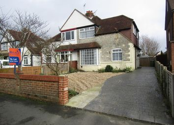Thumbnail 3 bedroom semi-detached house to rent in Station Road, Drayton, Portsmouth
