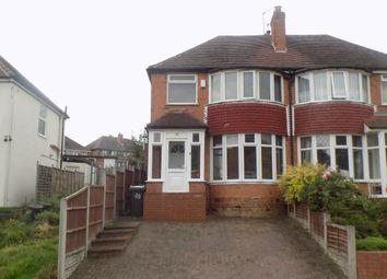 Thumbnail 3 bed semi-detached house for sale in Cardington Avenue, Great Barr, Birmingham