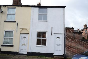 Thumbnail 2 bed end terrace house to rent in South Park Road, Macclesfield