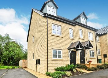 Thumbnail 3 bed semi-detached house for sale in Chartist Close, Denholme, Bradford