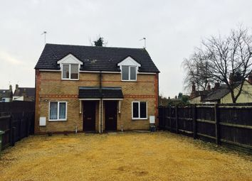 Thumbnail 1 bedroom semi-detached house to rent in Woodbine Mews, Cavendish Street, Peterborough