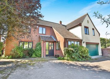 Thumbnail 5 bed detached house for sale in West End, Saxlingham Thorpe, Norwich