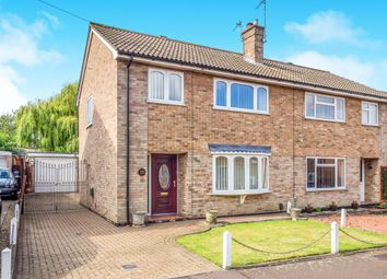 Thumbnail 3 bed semi-detached house for sale in Tanager Close, Norwich