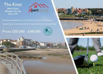Thumbnail 2 bed flat for sale in The Knot, Beach Road, Westgate-On-Sea