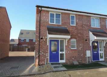 Thumbnail 2 bed end terrace house to rent in Musselburgh Way, Bourne, Lincolnshire