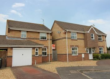 Thumbnail 3 bed detached house for sale in Blackthorn Close, Deeping St. James, Peterborough