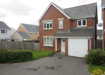 Thumbnail 4 bed detached house to rent in Llwyn Teg, Fforestfach, Swansea.