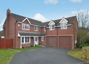 Thumbnail 5 bedroom detached house for sale in 23 Dorchester Drive, Muxton, Telford