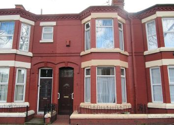 Thumbnail 3 bed terraced house to rent in Hilberry Avenue, Tuebrook, Liverpool