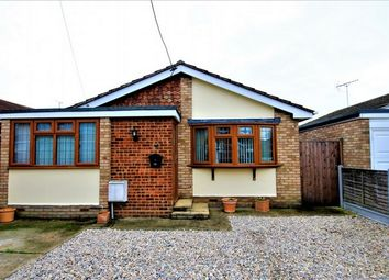 Thumbnail 2 bed detached bungalow for sale in Hannett Road, Canvey Island, Essex