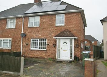 Thumbnail 4 bedroom semi-detached house for sale in Hall Crescent, Aveley, South Ockendon