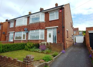 Thumbnail 3 bed semi-detached house for sale in Cranborne Road, Cosham, Portsmouth