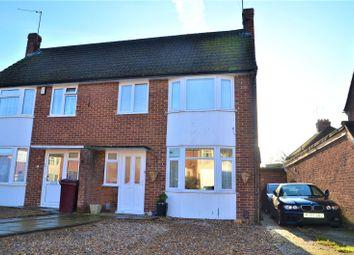 Thumbnail 3 bedroom semi-detached house for sale in Ivydene Road, Reading, Berkshire