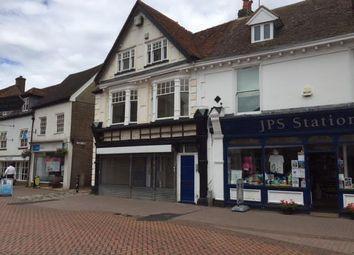 Retail premises to let in Market Square, Chesham, Bucks HP5