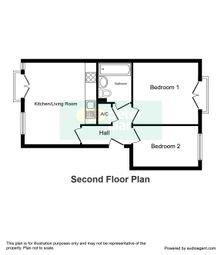 Thumbnail 2 bed flat to rent in Richards Court, Roath, Cardiff