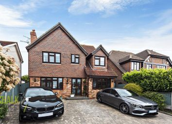 Thumbnail 4 bed detached house for sale in Rayburn Road, Hornchurch