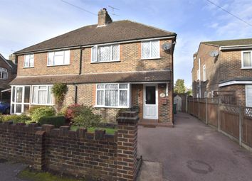 Thumbnail 3 bedroom semi-detached house for sale in Church Road, Horley