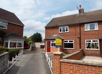 Thumbnail 2 bed semi-detached house for sale in Coronation Crescent, Rocester, Uttoxeter, Staffordshire