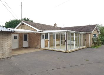 Thumbnail 3 bed detached bungalow for sale in Ratten Row, Walpole Highway, Wisbech
