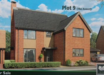 Thumbnail 4 bed detached house for sale in Nightingale Close, Melton, Woodbridge