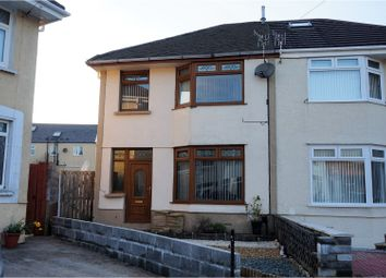 Thumbnail 3 bed semi-detached house for sale in Siloh Crescent, Landore