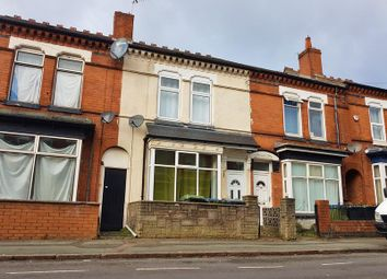 Thumbnail 3 bed terraced house to rent in Poplar Road, Bearwood, Smethwick
