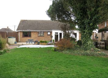 Thumbnail 3 bed detached bungalow for sale in Herne Road, Ramsey St. Marys, Huntingdon