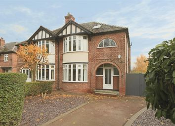 Thumbnail 4 bed semi-detached house for sale in Bedale Road, Sherwood Dales, Nottingham