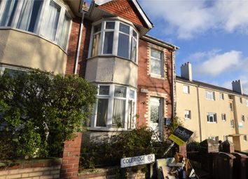 Thumbnail 4 bed semi-detached house for sale in Coleridge Road, Plymouth, Devon