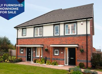 """Thumbnail 3 bedroom property for sale in """"The Hamilton"""" at Dandy Mill Avenue, Pontefract"""