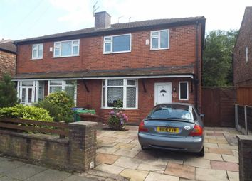 Thumbnail 3 bed semi-detached house for sale in Edilom Road, Manchester