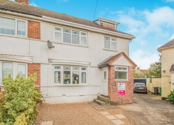 Thumbnail 3 bed semi-detached house for sale in Caeglas Avenue, Rumney, Cardiff