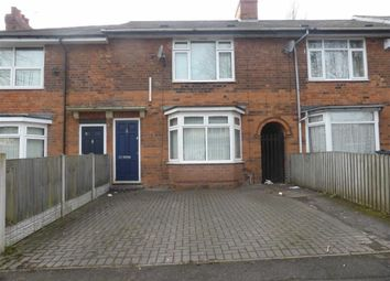 Thumbnail 3 bed terraced house for sale in Moat House Road, Saltley, Birmingham