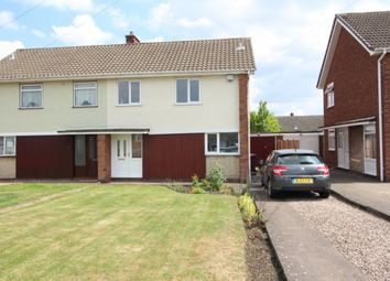 Thumbnail 3 bed semi-detached house to rent in Hopton Crescent, Wolverhampton