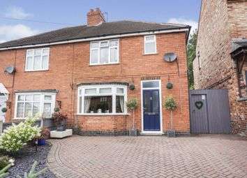 Thumbnail 3 bed semi-detached house for sale in Wood Lane, Swadlincote