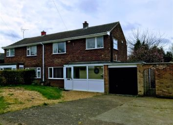 Thumbnail 3 bed semi-detached house for sale in Bridge End Grove, Grantham