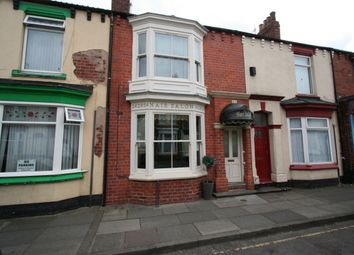 Thumbnail 2 bed terraced house for sale in Clifton Street, Middlesbrough