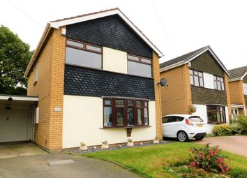 Thumbnail 3 bed detached house for sale in Borden Close, Wheaton Aston, Stafford