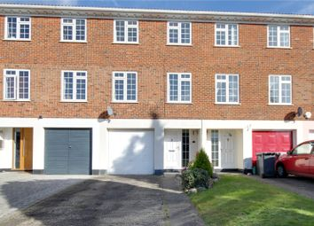 Thumbnail 3 bed terraced house for sale in Riversdell Close, Chertsey, Surrey