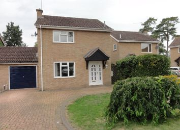 Thumbnail 3 bed link-detached house to rent in Blackbird Close, Thurston, Bury St. Edmunds