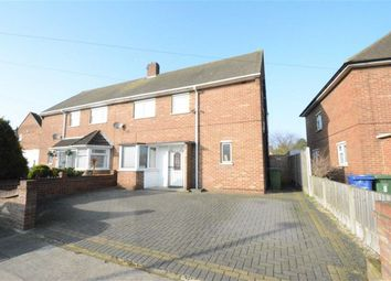 Thumbnail 3 bed semi-detached house for sale in Central Avenue, Aveley Village, Essex
