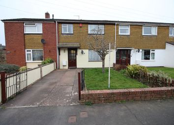 Thumbnail 3 bed terraced house for sale in Narrow Lane, Tiverton, Devon
